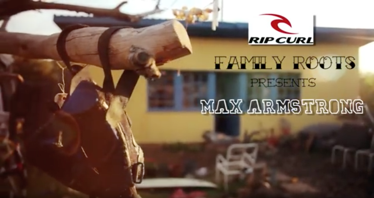 Max Armstrong Rip Curl Promo