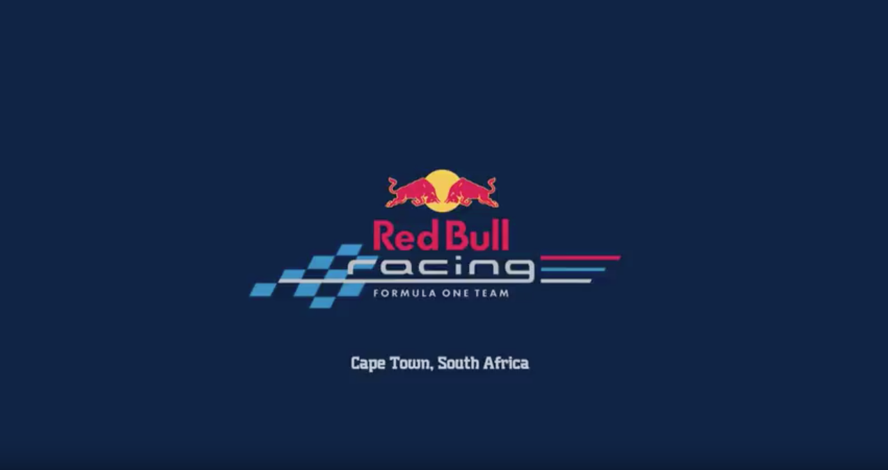 Red Bull F1 Showcar Run Cape Town